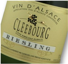 Cave Cleebourg Riesling 2014 Image